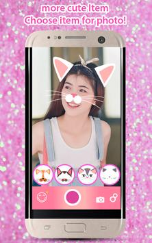 Selfie Cat Face Filters Camera screenshot 4