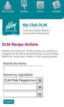 Dorothy Lane Market Mobile App apk screenshot