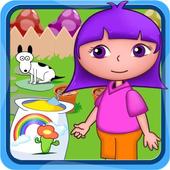 Dora saves the magical garden icon