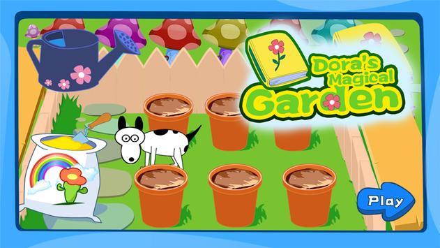 Dora saves the magical garden poster