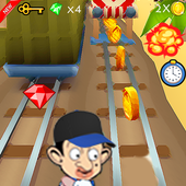 Subway bean Adventure icon