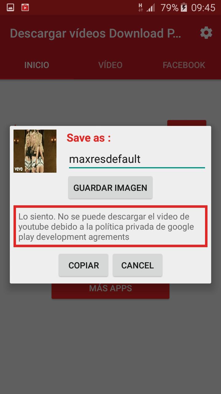 descargar youtube videos android