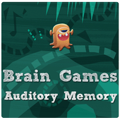 Brain games - Auditory Memory icon