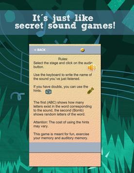 Brain games - Auditory Memory screenshot 2