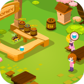 เกมส์ผึ้งน้อยหาน้ำหวาน icon