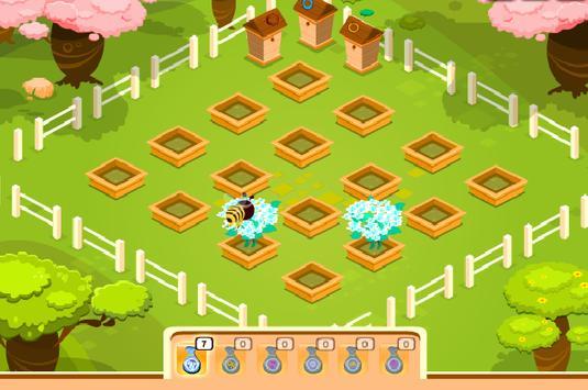 เกมส์ผึ้งน้อยหาน้ำหวาน screenshot 1