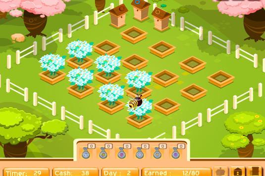 เกมส์ผึ้งน้อยหาน้ำหวาน screenshot 2
