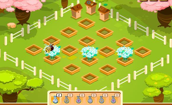 เกมส์ผึ้งน้อยหาน้ำหวาน screenshot 3