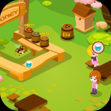 เกมส์ผึ้งน้อยหาน้ำหวาน screenshot 4