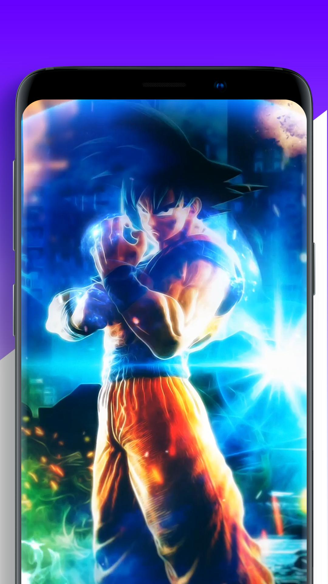 Dbz Anime Live Wallpaper Goku Hd Video Animation For Android