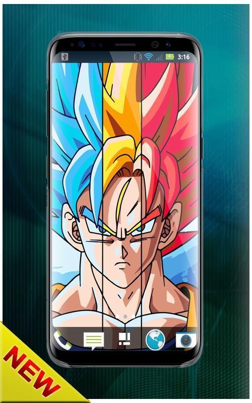 New Dragon Ball Wallpaper Hd Z Super Saiyan For Android Apk Download