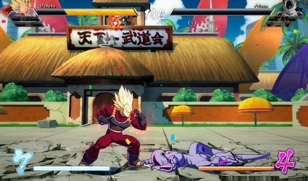 Code Dragon Ball FighterZ Arcade Moves apk screenshot
