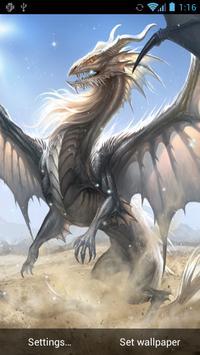 Dragon Live Wallpaper screenshot 2