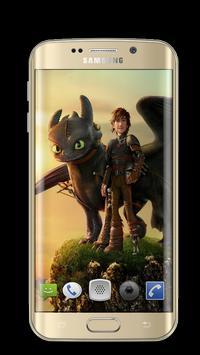 Dragon Toothless Wallpapers 3D screenshot 6