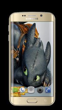 Dragon Toothless Wallpapers 3D screenshot 7