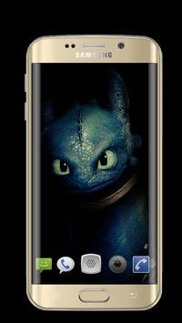 Dragon Toothless Wallpapers 3D screenshot 1