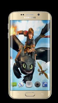 Dragon Toothless Wallpapers 3D screenshot 2