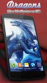 Dragons Live Wallpapers HD apk screenshot