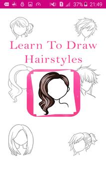 Learn To Draw Hairstyles poster