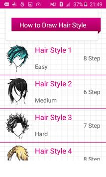 Learn To Draw Hairstyles screenshot 1
