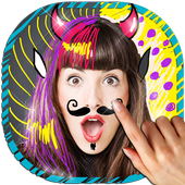 Draw on Photos in Gallery 🖌 Doodle Photo Editor icon
