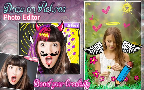 Draw on Photos in Gallery 🖌 Doodle Photo Editor screenshot 9