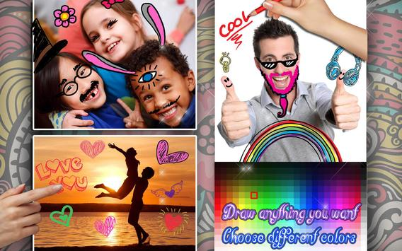 Draw on Photos in Gallery 🖌 Doodle Photo Editor screenshot 10