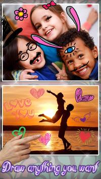 Draw on Photos in Gallery 🖌 Doodle Photo Editor screenshot 2