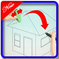 Learn to draw a house