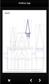 How To Draw Castle poster