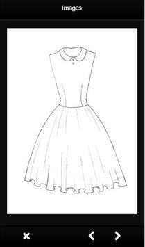 How To Draw Clothes Design apk screenshot