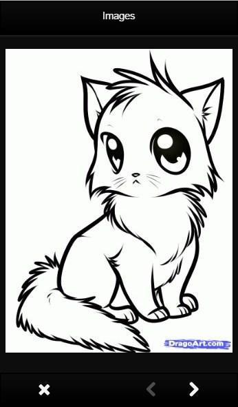 Como Desenhar Gato Bonito Para Android Apk Baixar