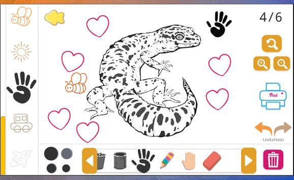 Draw Cute Leopard Gecko apk screenshot