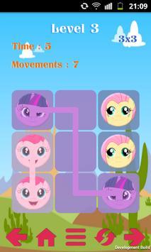 Şekil birleştirme oyunu poster