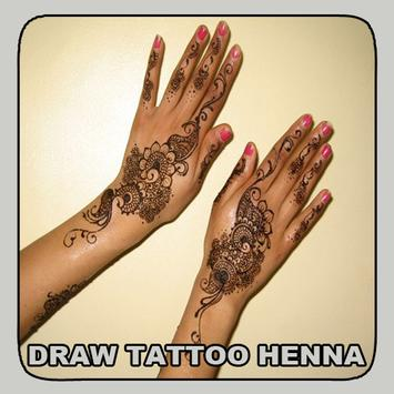 Draw Tattoo Henna poster