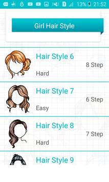 Learn to draw hairstyles - Hair screenshot 1