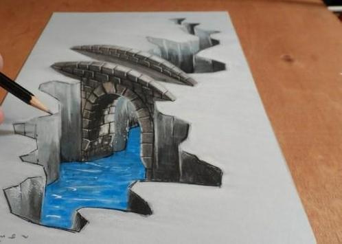 Drawing 3D Shapes Design apk screenshot