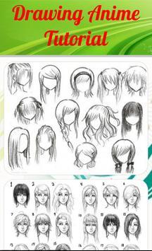 Drawing Anime Tutorial apk screenshot