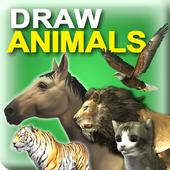 Draw Animals 3D icon