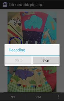 Speakable picture for toddler apk screenshot