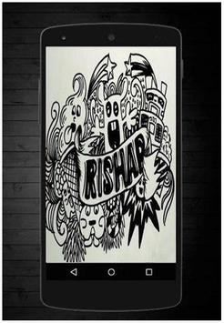 Drawing Doodle Art Name poster