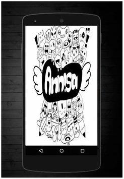 Drawing Doodle Art Name screenshot 2