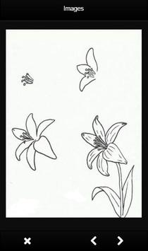 Drawing Flowers Tutorials apk screenshot