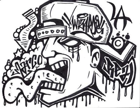 Drawing Graffiti Characters screenshot 1