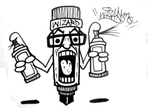 Drawing Graffiti Characters screenshot 4