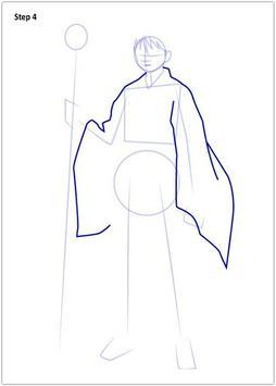Drawing Inuyasha step by step screenshot 1