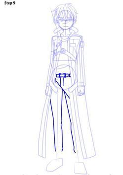 How To Draw Sword Art Online apk screenshot