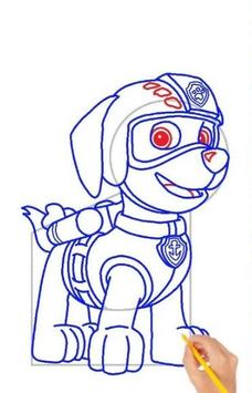 Drawing Paw Patrol step by step screenshot 2