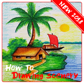 Drawing Scenery icon