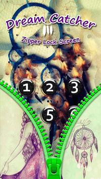 Dream Catcher Zipper Lock Screen apk screenshot